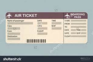 plane ticket template word airline ticket template word masir