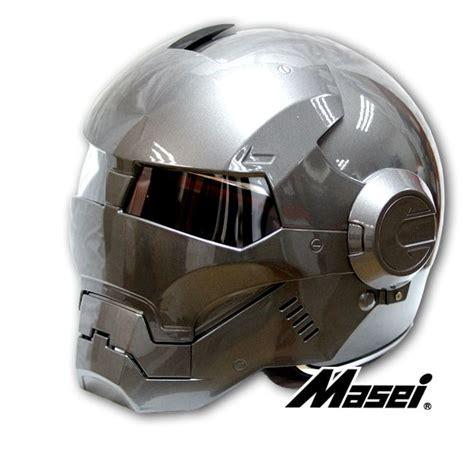 kawasaki motocross helmets masei gray atomic man 610 open face motorcycle iron man