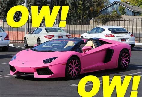 Nicki Minaj Pink Lamborghini by Nicki Minaj S Pink Lamborghini Aventador Moejackson