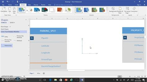 visio demonstration visio 2016 crows foot erd interface demo v2