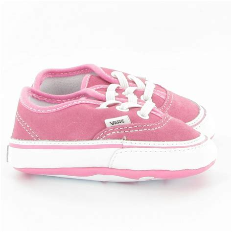 Crib Shoes by Vans Authentic Crib Shoes In Pink