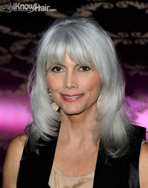 stylish cuts for gray hair silver hair color for hairstyles for women over 60