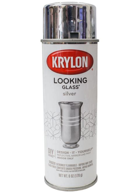spray paint indonesia krylon looking glass silver spray paint