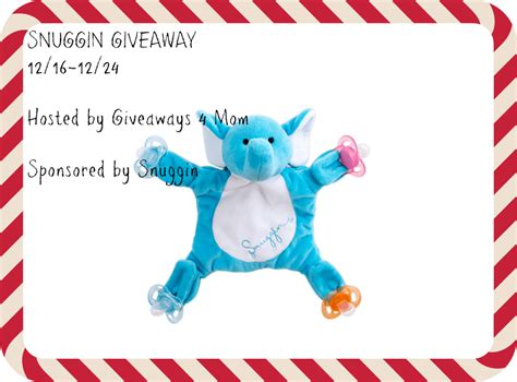 Mom Giveaways 2015 - snuggin giveaway angie s angle