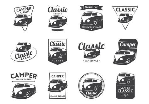 volkswagen old logo vw cer vintage logo vector download free vector art