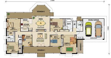 houseplans with pictures acreage designs house plans queensland