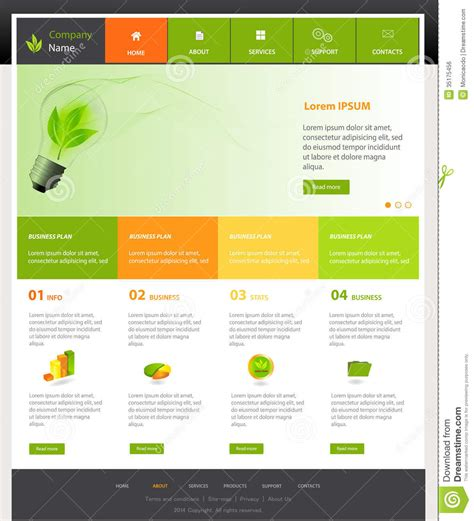 Website Design Templates Cyberuse Template Website