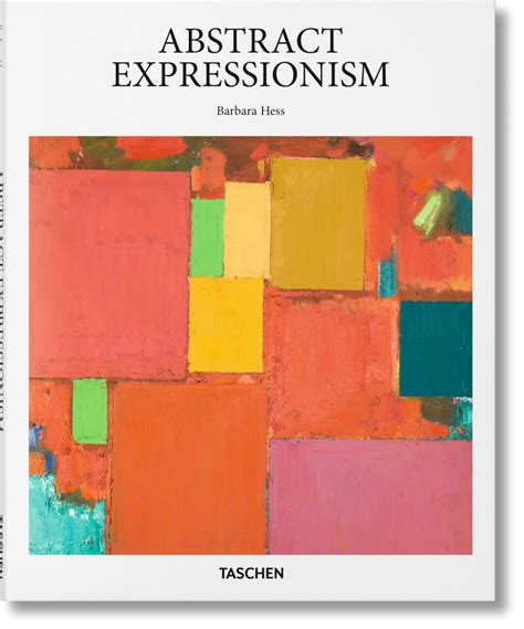libro abstract art basic art abstract expressionism taschen books basic art series