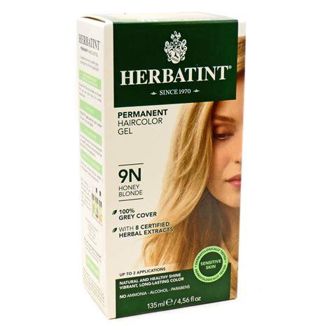 9n hair color herbal hair color 9n honey by herbatint hair products