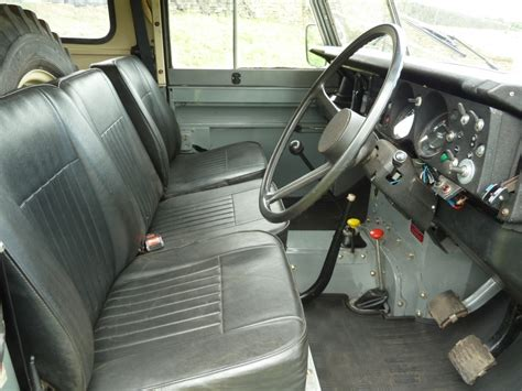 land rover series 3 interior xke 643x 1982 land rover series 3 hard top with