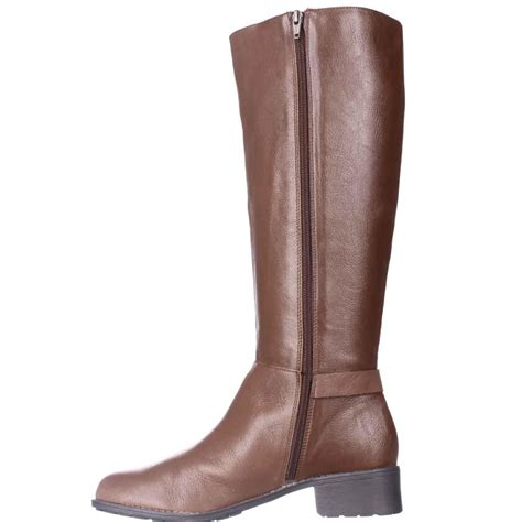 easy spirit boots easy spirit lennie boots in brown lyst