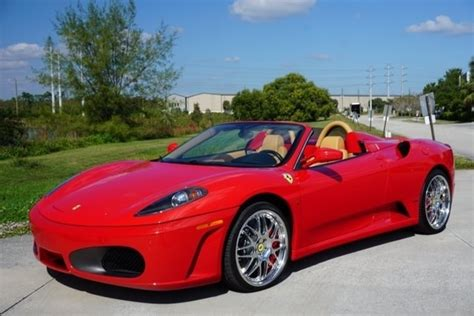 f 430 for sale 2007 f430 spider for sale palm supersports