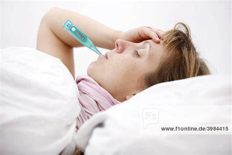 Krank Im Bett