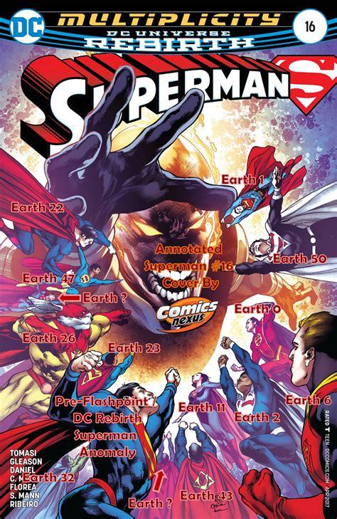 Dc Comics Justice League 16 May 2017 dc comics rebirth spoilers review superman 16 ends