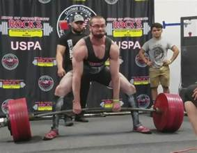 cailer woolam becomes to deadlift 400kg at 90kg