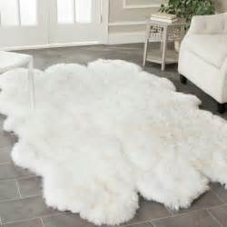 Big Fluffy Rugs by Big White Fluffy Rug Home Design Ideas