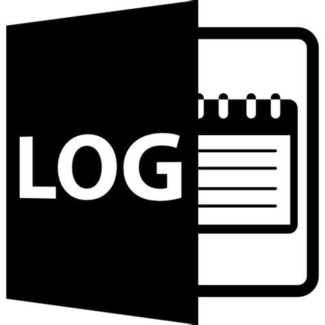 format log file log file format symbol free interface icons
