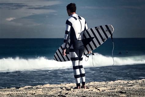 zebra pattern surfboard charge and stripes the latest in shark deterring devices