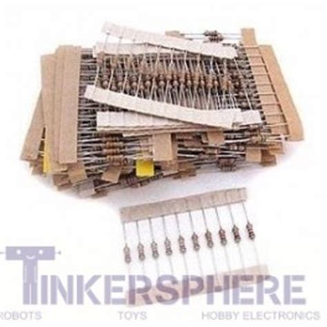 resistor value pack 7 49 resistor value pack 480pc 1 4w 5 e3 tinkersphere