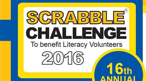 Literacy Volunteers Announces Scrabble Challenge