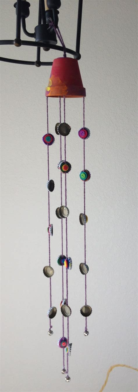 Handmade Wind Chimes - pin by cushley on gardening