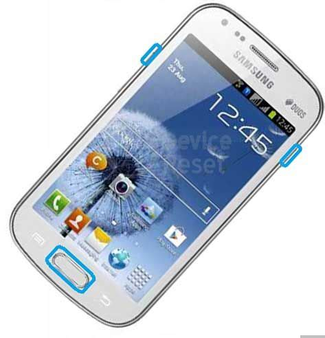reset factory samsung duos how to hard factory reset samsung galaxy duos s7562