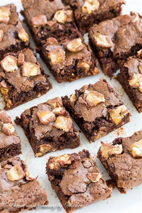 Fudges Cheese Brownies 22 Cm best 25 snicker brownies ideas on recipe with snickers bar recipe for snickers