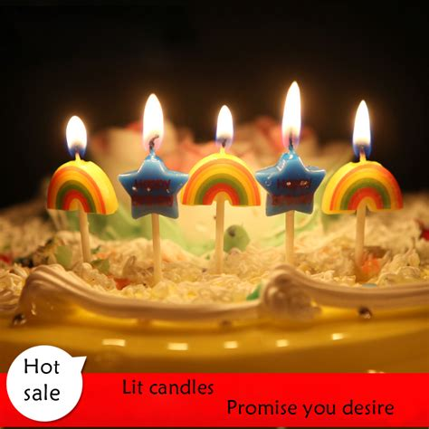 ingrosso di candele acquista all ingrosso arcobaleno candele da