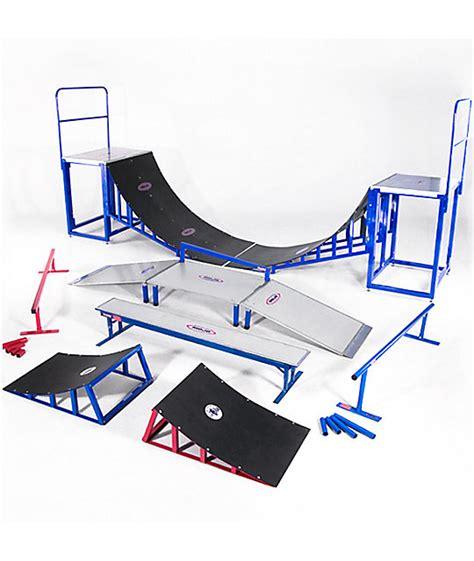mojo skate bench mojo rails complete skate park zumiez