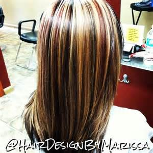 hair foil color ideas 3 color foil cut style hair design by marissa