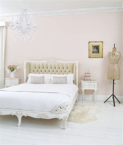 french chic style bedroom provencal upholstered velvet french bed shabby chic style bedroom sussex by
