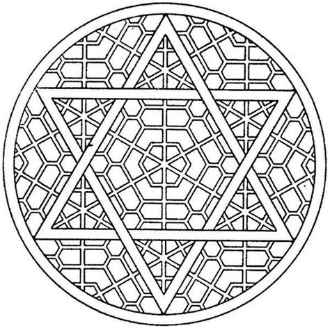 coloring page of star of david star of david coloring pages getcoloringpagescom sketch