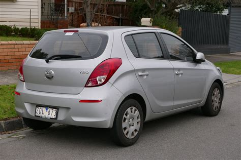 Hyundai I 20 by File 2012 Hyundai I20 Pb My13 Active 5 Door Hatchback