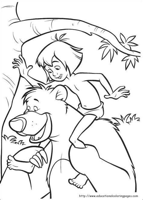 Jungle Book 2 Coloring Educational Fun Kids Coloring Jungle Book 2 Coloring Pages