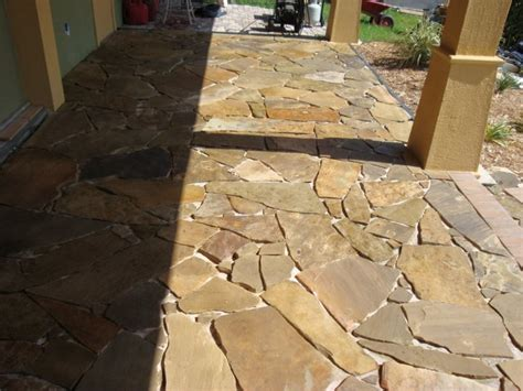 natural slate patio stonework hardscaping  sarasota