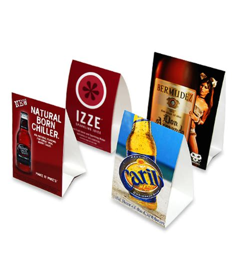 Table Tents by Cheap And Custom Table Tents Printing Services Nyc Canada