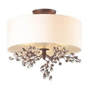 flush to ceiling light fixtures elk lighting 20089 3 winterberry semi flush ceiling fixture