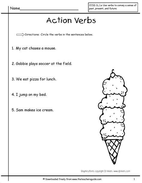 verbs worksheet 2nd grade worksheets ratchasima