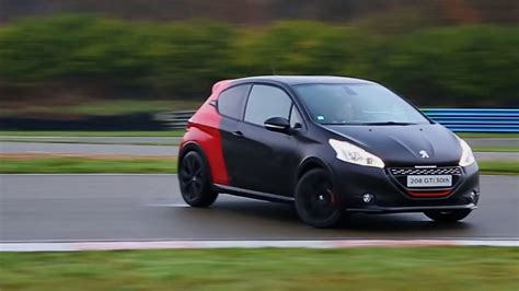 peugeot 208 gti 30th anniversary peugeot 208 gti 30th edition track driving oversteer and