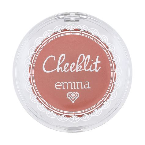 Emina Cheeklit Pressed Blush On Violet Berry cheeklit our products emina