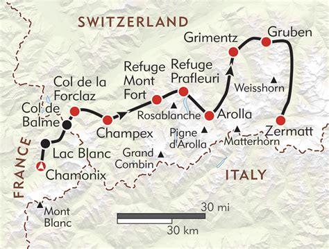 classic haute route wilderness travel