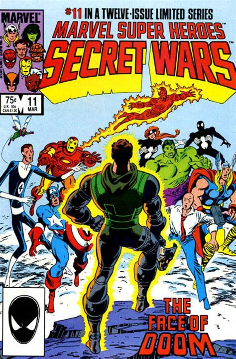 libro secret wars secret wars marvel super heroes secret wars 11 and dust to dust issue