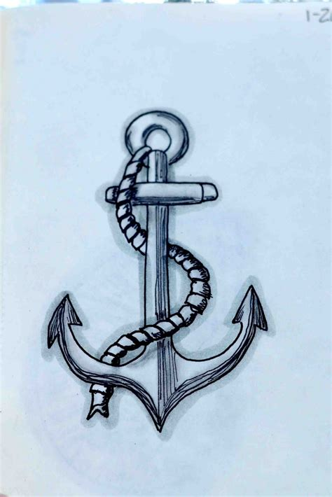 drawings of anchor drawings with quotes quotesgram
