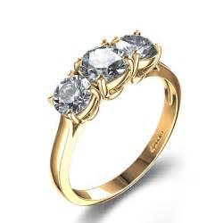 triple band diamond wedding ring