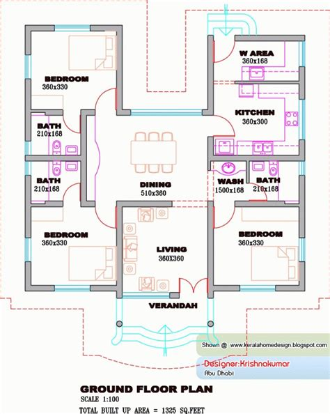 kerala house plans   kerala home design   floor plan floor decor design
