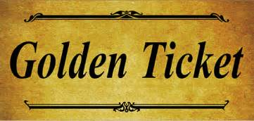 Free Golden Ticket Template by 6 Golden Ticket Templates Word Excel Templates