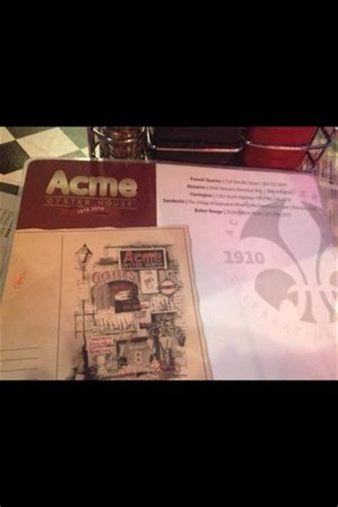 acme oyster house menu acme menu picture of acme oyster house new orleans tripadvisor