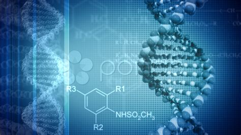 blue background with rotating dna stock video 560150 hd stock footage