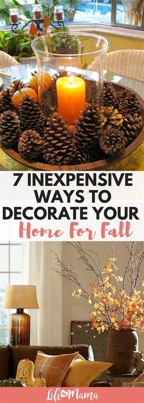 cheap ways to decorate 7 inexpensive ways to decorate your home for fall decorating holidays and decoration