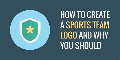 create your logo team how to create a sports team logo and why you should